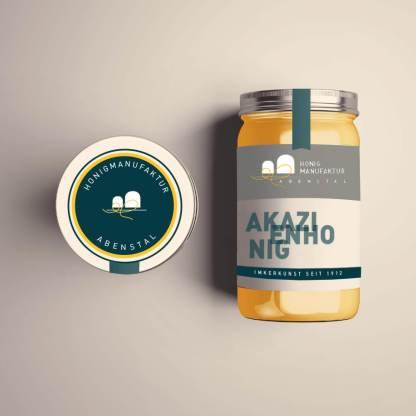 Logodesign Honigmanufaktur Abenstal